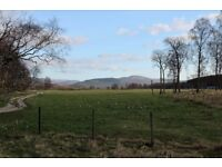 Large double room available in beautiful 4 bedroom house near Feshiebridge. Stunning views.
