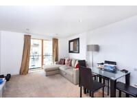A modern 1 bed flat with private balcony & parking. Reed House, Durnsford Rd, Wimbledon SW19
