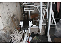 Polaris leg press squat machine