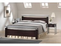 Brand new box Dixie Wooden/Metal Bed king size
