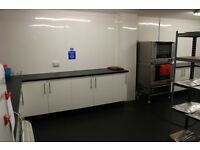 Commercial kitchen and storage unit to Rent