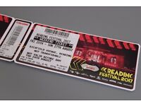 FOR SALE - Reading Festival Weekend Tickets 2017
