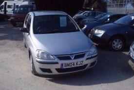 VAUXHALL Corsa LIFE, 973cc Petrol, 74,000 miles 5 Door Hatch, 2004-04 plate