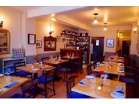 Award winning restaurant looking for experienced waiting staff to join small and friendly team
