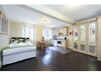 JUST CAME ON THE MARKET !!!! LARGE STUDIO FLAT IN BAKER STREET