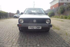 classic 1989 Volkswagen GOLF 4+E