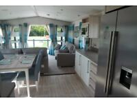 Holiday lodge, static caravan in the New Forest National Park, south facing deck
