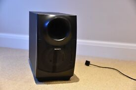 Sony Sound System with Wall Mount Speakers & Sub-Woofer Floor Standing Unit