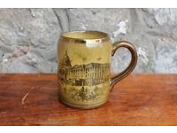 Vintage Ridgway s Large Mug Souvenir Washington DC America Antique Capitol Building & Mount Vernon