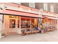 JUNIOR SOUS CHEF needed in a new Marylebone restaurant