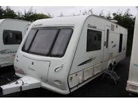 Elddis Crusader Super Sirocco 2008 4 Berth Fixed Bed Twin Axle Caravan