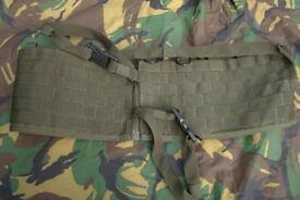 Brand New - Arktis made MOLLE Waist Webbing Rig
