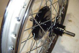 BSA C11 G Rebuilt Rear Wheel,