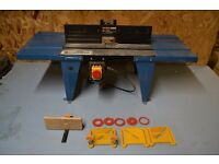 Work Zone Router Table