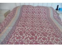 Dorma Quilt and Matching Curtains For Double Bed
