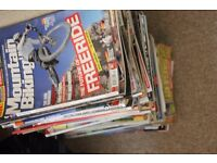 Collection of retro bike mags