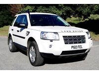 LAND ROVER FREELANDER 2 2.2 TD4 GS AUTOMATIC 5DR 1 OWNER FROM NEW FSH HPI CLEAR EXCELLENT CONDITION