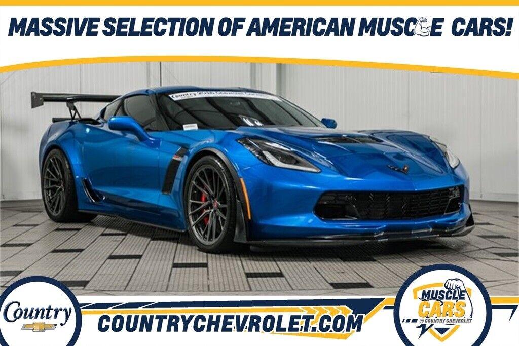 2016 Blue Chevrolet Corvette Z06  | C7 Corvette Photo 1