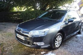 Citroen C5 Tourer 1.6Hdi VTR + Nav. 59 Plate. Great overall condition. Reliable and economical.