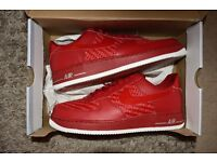 Mens NIKE AIR FORCE 1 Red 07' LV8 RARE TRAINERS SNEAKERS WOVEN UK10