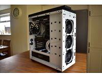 Gaming PC 6700k 4.2Ghz, GTX 1080 Full RGB, 32GB DDR4, 1 TB SSD, 1 TB HDD, High end PC