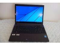 PC Specialist Gaming Laptop, 32GB RAM, Intel i7 3.80GHz, Nividia GTX 4GB Dedicated, 256GB SSD