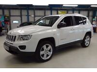 Jeep Compass CRD LIMITED 4WD (white) 2013