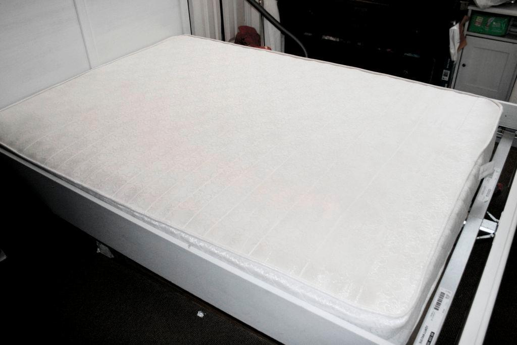 Mattress for sale 4ft6 double micro quilt 7 deep in for Beds glasgow