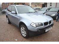 BMW X3 2.0 d Sport 5dr (blue) 2005