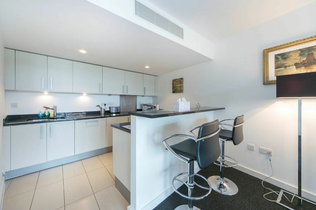 Large 1 Bedroom Apartment in Riverside Development Falcon Wharf