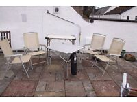 Garden / camping chairs good quality