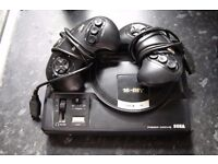 Fully Working Sega Megadrive with 2 Controllers and cables included