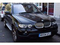 BMW X5 AUTO- 3.0 Diesel, Cream leather interior, Full service History - SatNav Parking Camera/sensor
