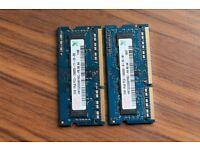 Ram 8gb 4x2gb 1333 ddr3 for Laptop