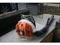 Petrol Stihl BR600 backpack blower