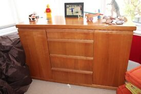 Solid Rosewood Chest of Drawers