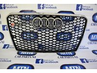 AUDI A7 RS7 2010 - 2017 FRONT GRILL 4G8 CHASIS SILVER BLACK