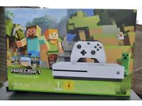 Xbox one S - Minecraft edition