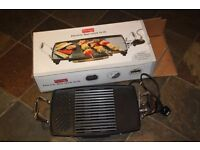 Prestige Electric Non-Stick Grill, used but as new, immaculate condition complete with box.