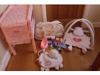 girls toy doll Baby Annabell accessories changing table storage bag baby gym activity bundle
