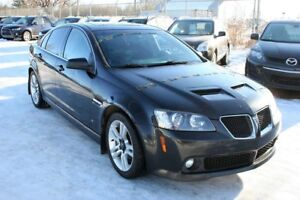 2009 Pontiac G8 Power sunroof, Factory Remote start, Alloys, Bl