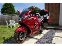2006 Triumph Sprint ST 1050 ABS Red with Touring Panniers and Top Box ST1050 Recently Serviced