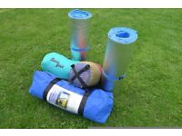TENT PLUS INSULATED CAMPING MATS AND SLEEPING BAGS - FANTASTIC BUNDLE