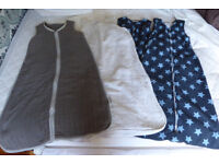 Bundle of 4 very good quality baby sleeping bags size 6-18 mths