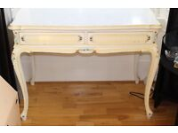 Queen Anne style desk/dressing table
