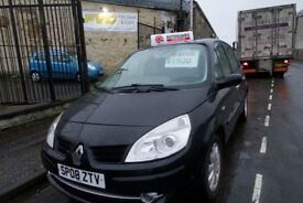 Renault Scenic Black for sale - Kirkcaldy - MOT until Feb 18 and 3 month warranty.