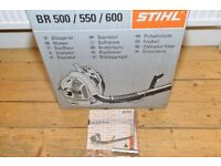 Stihl BR 600 2016 used once!
