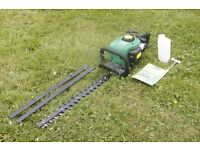 25cc Petrol Hedge Trimmer Cutter WITH WARRANTY! Inc. free fuel mixing bottle