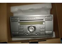 Ford 6006 CDC 6 disc CD, Radio, Stereo, RARE SILVER, Fit Focus, Mondeo, Fiesta, Fusion, Cmax, Smax