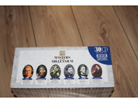 BRAND NEW SEALED SET OF 30 CLASSICAL MUSIC CDS MASTERS OF THE MILLENIUM
